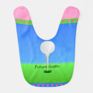 Future Golfer - Girl Bib