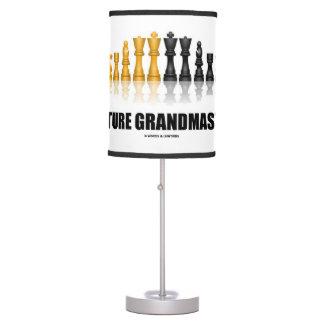 Future Grandmaster Reflective Chess Set Table Lamps