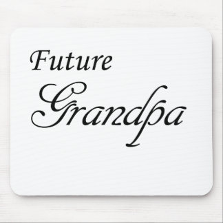 Future Grandpa Mouse Pad