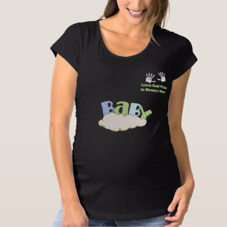 Future Hand Prints Maternity T-Shirt