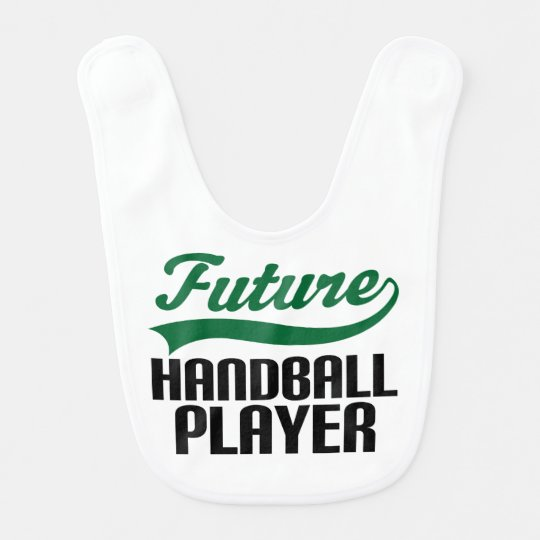 Future Handball Player Baby Bib