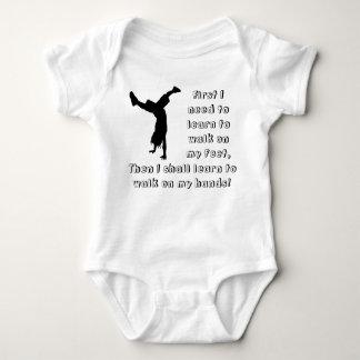 Future Handstander! Baby Bodysuit