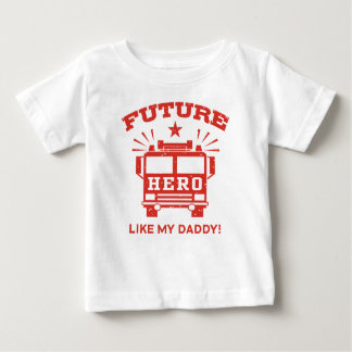 Future Hero Like My Daddy Baby T-Shirt