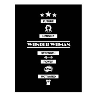 Future Heroine Wonder Woman Postcard
