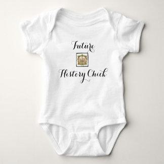 Future History Chick Baby Bodysuit