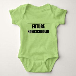 Future Homeschooler Baby Bodysuit