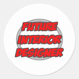 Future Interior Designer Sticker