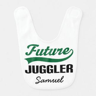 Future Juggler Personalized Baby Bib