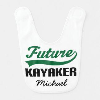 Future Kayaker Personalized Baby Bib