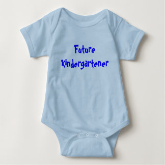 Future Kindergartener boy Baby Bodysuit