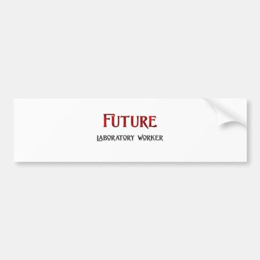 Future Laboratory Worker Bumper Stickers