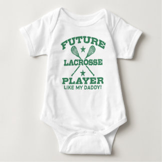 Future Lacrosse Player Like My Daddy Baby Bodysuit