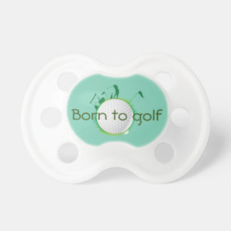 Future LadyGolfer  Baby Pacifier