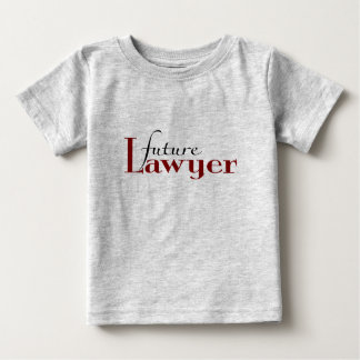 Future Lawyer Baby T-Shirt