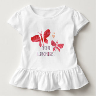 Future Lepidopterist Butterfly Toddler Girls Tee