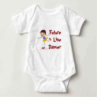 Future Line Dancer! - Girl Baby Bodysuit