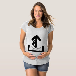 Future Lineman Uploading Maternity T-Shirt