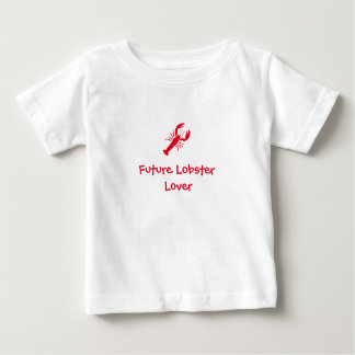 """Future Lobster Lover"" Baby Tee"