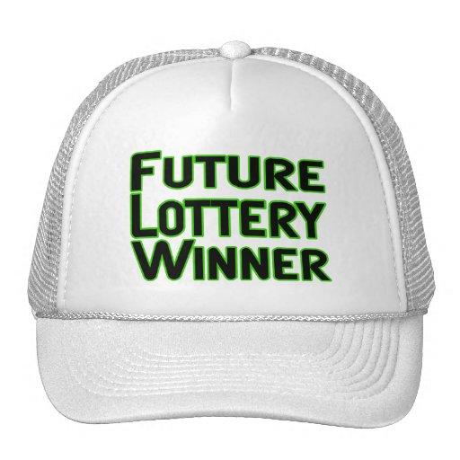 Future Lottery Winner Hats