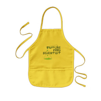 Future Mad Scientist Kids Apron