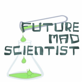 Future Mad Scientist Cut Out