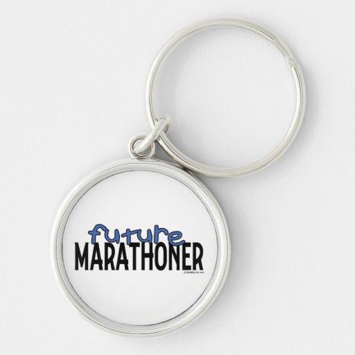 Future Marathoner Key Chain