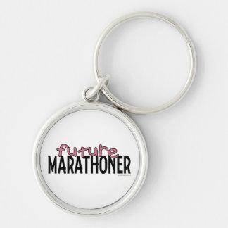 Future Marathoner - Pink Key Chain