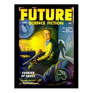 Future March 1953_Pulp Art Postcard