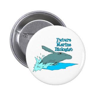 Future Marine Biologist 2 Inch Round Button