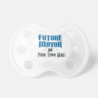 Future Mayor Pacifier for Boy