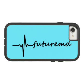 Future MD EKG Line & Personalized Color Background Case-Mate Tough Extreme iPhone 7 Case