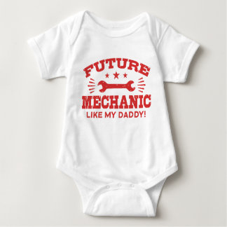 Future Mechanic Like My Daddy Baby Bodysuit