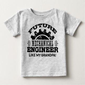 Future Mechanical Engineer Like My Grandpa Baby T-Shirt