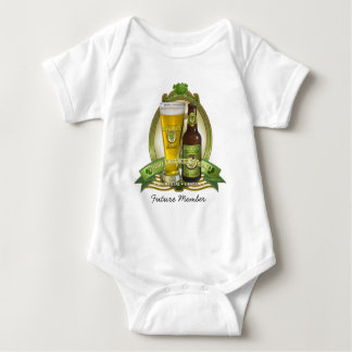 Future Member - St. Patricks Day Drinking Team Baby Bodysuit