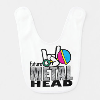 Future Metal Head Bib