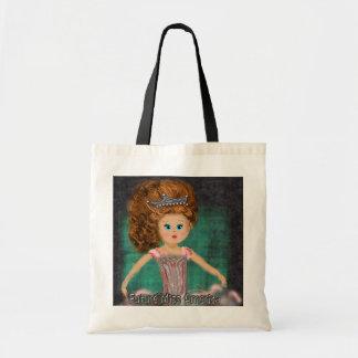 Future Miss America design Tote Bag