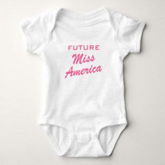 Future Miss America | Girl baby clothing Baby Bodysuit