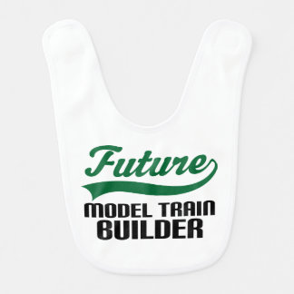 Future Model Train Builder Baby Bib