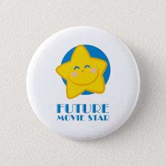 Future Movie Star 2 Inch Round Button
