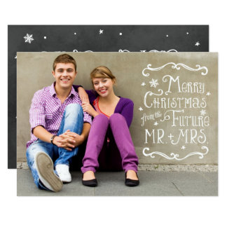 Future Mr. and Mrs. | Christmas Photo Card