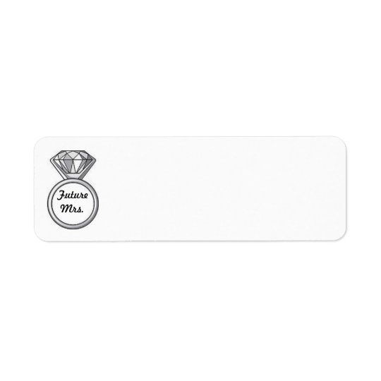 future Mrs. address labels