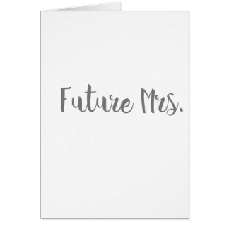 Future Mrs. Apparel Card