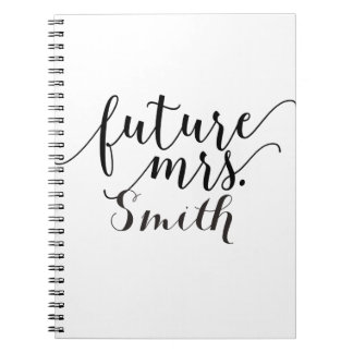 Future Mrs. Custom Wedding Planning Notebook