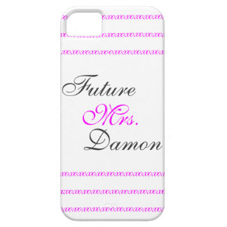 Future Mrs. Damon iPhone 5 Case