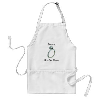 Future Mrs. Gifts and Tees Standard Apron