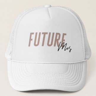 Future Mrs Hat | Bachelorette Hat - Dark Pink
