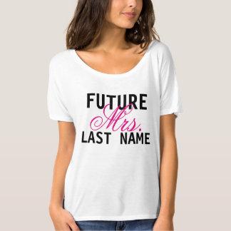 Future Mrs. Personalized Bride Wedding Shirt