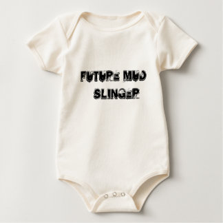 Future Mud Slinger Baby Bodysuit