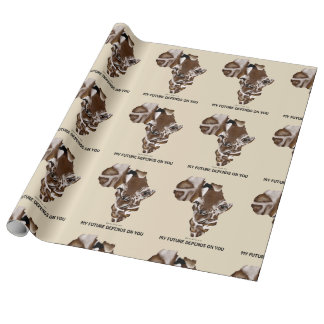 Future My depend one you Wrapping Paper