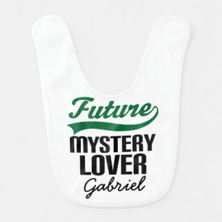 Future Mystery Lover Personalized Baby Bib